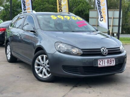 2010 Volkswagen Golf VI MY10 103TDI DSG Comfortline Grey 6 Speed Sports Automatic Dual Clutch Wagon Caloundra West Caloundra Area Preview