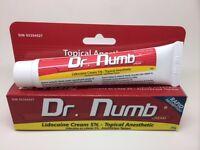 Dr Numb Numbing Cream 30gm Tube UK Stock