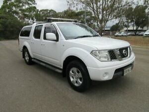 2011 Nissan Navara D40 ST (4x4) White 6 Speed Manual Dual Cab Pick-up Gilles Plains Port Adelaide Area Preview