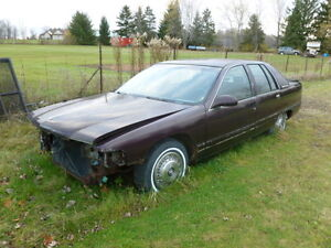 parted out 95 Buick roadmaster
