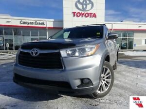 2016 Toyota Highlander XLE 8 PASS AWD/ CLEAN CARPROOF/ TOYOTA CE