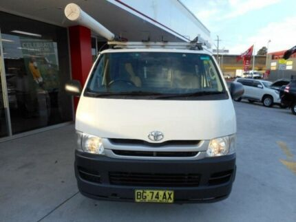 2010 Toyota Hiace KDH201R MY11 Upgrade LWB French Vanilla 5 Speed Manual Van Allawah Kogarah Area Preview