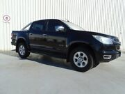 2012 Holden Colorado RG MY13 LTZ Crew Cab Black 5 Speed Manual Utility Canning Vale Canning Area Preview