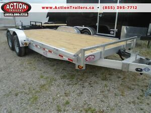 LIGHTER IN WEIGHT -18' (10,000LB GVWR) ALUMINUM EQUIPMENT HAULER