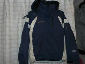 Columbia Titanium 2 in 1 Winter Coat, with hood - $125