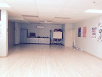Large Commercial Room Rental