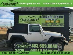 *RARE* 2011 Jeep Wrangler 4X4 OFF ROAD KING! CONVERTIBLE !