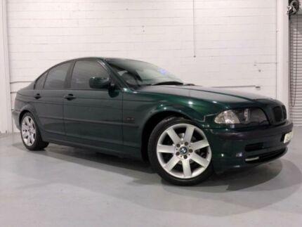 1999 BMW 318I E46 Green 4 Speed Auto Steptronic Sedan Windsor Hawkesbury Area Preview