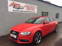 AUDI A4 TECHNIK QUATTRO BLACK EDITION STYLING AUTO 2014 MISANO RED