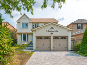 Luxury Family Home in Unionville Markham For Lease