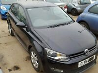 *****BREAKING FOR PARTS***** 2015 VW POLO 1.2 TSI / 1.4 TDI MINT ENGINE/AIRBAG/FRONT/BACK/DOORS etc