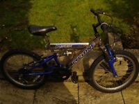FOR sale boys bicycle age group 8 to 11..