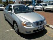 2007 Kia Cerato LD MY07 EX Silver 4 Speed Automatic Sedan Victoria Park Victoria Park Area Preview