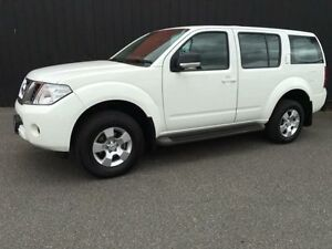 2012 Nissan Pathfinder R51 MY10 ST White 5 Speed Automatic Wagon Moorabbin Kingston Area Preview