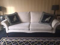 Stunning large cream sofa