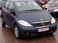 MERCEDES BENZ A150 55 REG BLUE