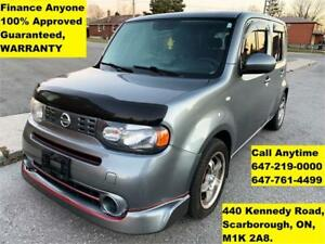 2010 Nissan cube 1.8 S FINANCE 100% GUARANTEED APPROVED WARRANTY
