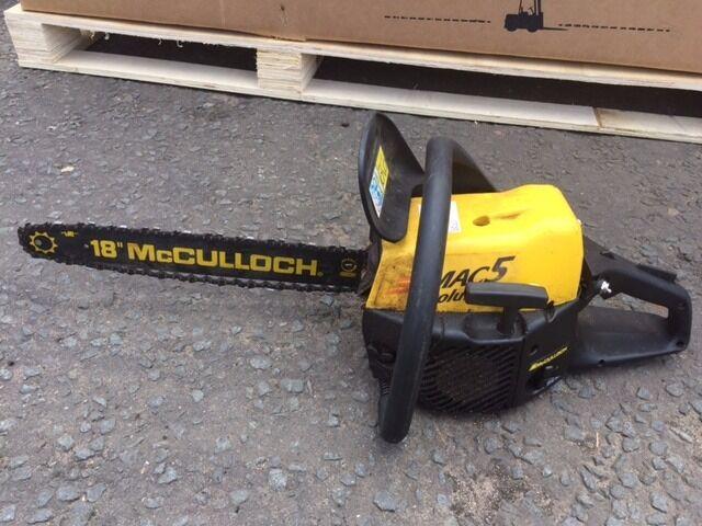 Mcculloch mac5 chainsaw in kilmarnock east ayrshire gumtree mcculloch mac5 chainsaw greentooth Choice Image