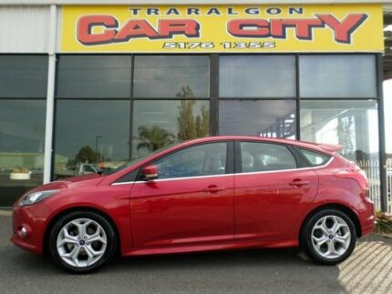2013 Ford Focus SPORT LW MK II  Red 6 Speed Sports Automatic Hatchback Traralgon Latrobe Valley Preview