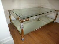 glass coffee table for sale