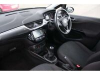 Black Vauxhall corsa 5dr, 1.4. Low mileage. Less than 2 years. Full service