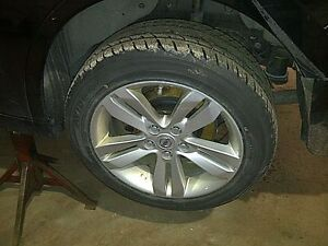 TPMS / 215 55 17 Bridgestone on OEM 2012 Nissan Altima alloys