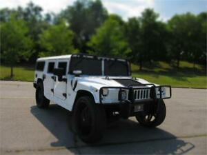 "2003 HUMMER H1 WAGON K-SERIES LEATHER 28""WHEELS MIAMI PKG luxury"