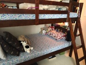Stork Craft Bunk Bed and/or Mattresses