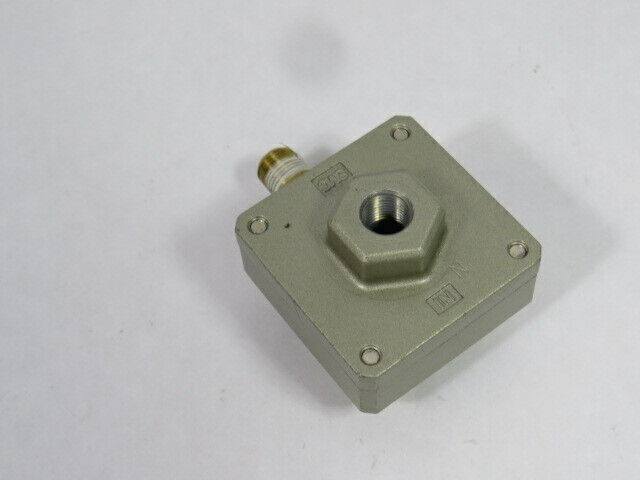 "SMC NAQ2000-N02 Quick Exhaust Valve 1/4"" NPT 1mPa  USED"