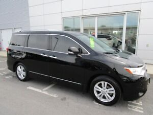2012 Nissan Quest SL 3.5 V-6 LEATHER SEATING 7 PASSENGER HEATED