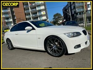 2009 BMW 335i E92 White 6 Speed Auto Steptronic Coupe Homebush Strathfield Area Preview