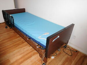 hospital movable bed and table with wheels for sale