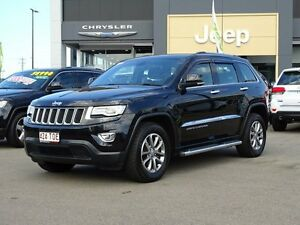 2013 Jeep Grand Cherokee WK MY2014 Laredo Brilliant Black 8 Speed Sports Automatic Wagon Garbutt Townsville City Preview