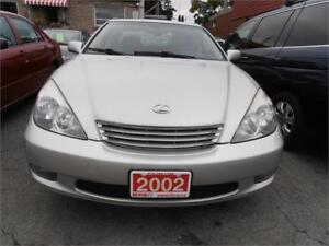 2002 Lexus ES300 Leather Sunroof Grey Only 103,000km