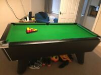 Supreme Winner Pool Table 7foot - Excellent Condition With Accesories