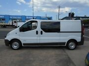 2008 Renault Trafic X83 MY07 Low Roof LWB Quickshift White 6 Speed Seq Manual Auto-Clutch Van Fyshwick South Canberra Preview