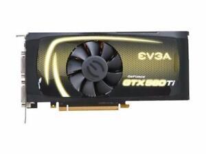 EVGA Geforce GTX 560 Ti GDDR5 de 2 GB @ 60$
