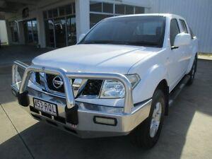 2011 Nissan Navara Polar White Manual Ayr Burdekin Area Preview