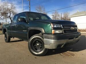 2005 Chevrolet Silverado 2500 HD EXT CAB = SHORT BOX = NO ACCIDE