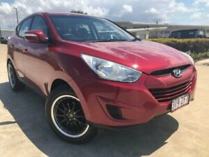 2010 Hyundai ix35 LM Active Red 6 Speed Sports Automatic Wagon Garbutt Townsville City Preview