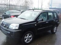 2004 NISSAN X-TRAIL BLACK BREAKING FOR PARTS