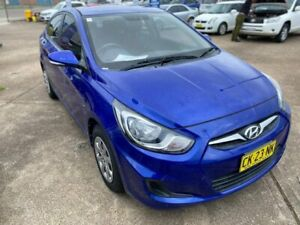 2012 Hyundai Accent RB Active 5 Speed Manual Sedan Wickham Newcastle Area Preview