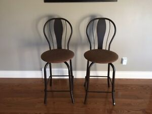 Comfortable Amisco Swivel Stools