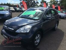 2007 Honda CR-V MY07 (4x4) Grey 5 Speed Automatic Wagon Lansvale Liverpool Area Preview
