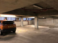 Underground Secure parking space within a shuttered compound HACKNEY HOMERTON