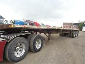 2000 FONTAINE 48 TRIDEM COMBO FLAT BED TRAILER Kitchener / Waterloo Kitchener Area image 8