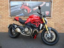 DUCATI M1200S MONSTER - ONLY 849 MILES FROM NEW