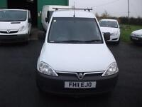 Vauxhall Combo Van No VAT Bennett Van Sales Ormskirk