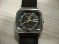 MENS VINTAGE SEIKO AUTOMATIC WATCH (blue)