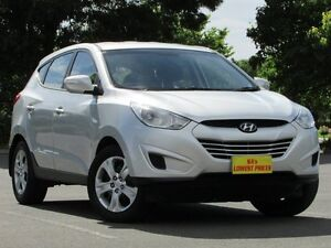 2012 Hyundai ix35 LM MY11 Active Silver 6 Speed Sports Automatic Wagon Blair Athol Port Adelaide Area Preview